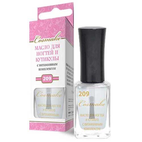 209 Масло для ногтей и кутикулы с витаминным комплексом Cosmake