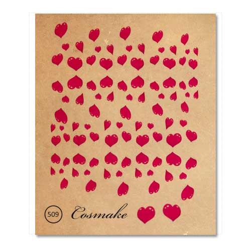 Фотодизайн 509 Сердечки розовые