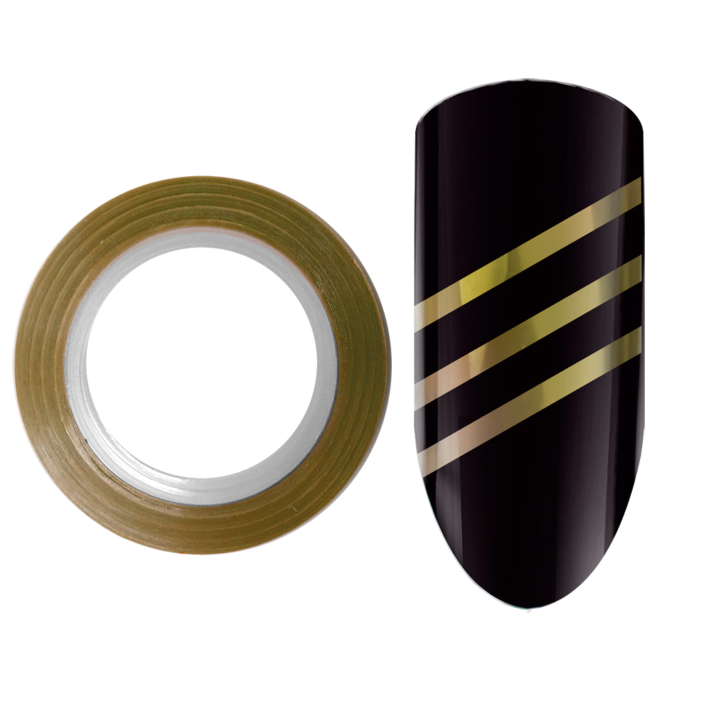 01 Лента для дизайна ногтей Color Line Золото