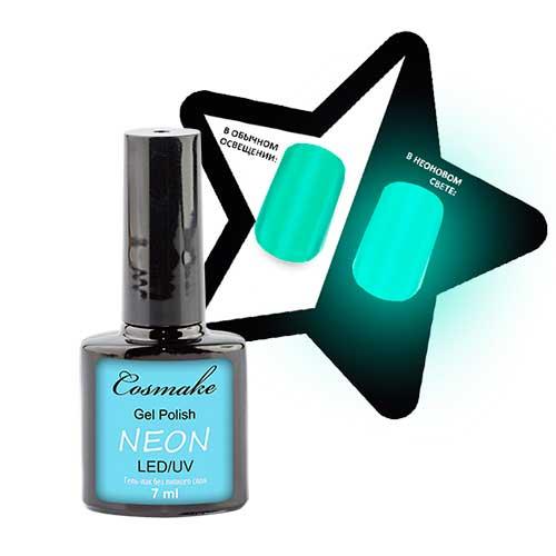 Гель-лак Neon 101 Светлая бирюза