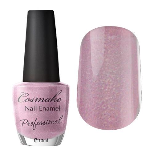 021 Лак для ногтей Professional Cosmake 16мл Лиловый с шиммером