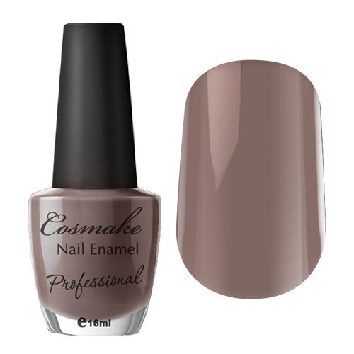 039 Лак для ногтей Professional Cosmake 16мл Серо-Корчневый (плотный оттенок)