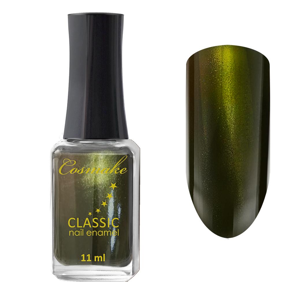 51 Лак для ногтей Cosmake CLASSIC 11 мл Оливковый с шиммером