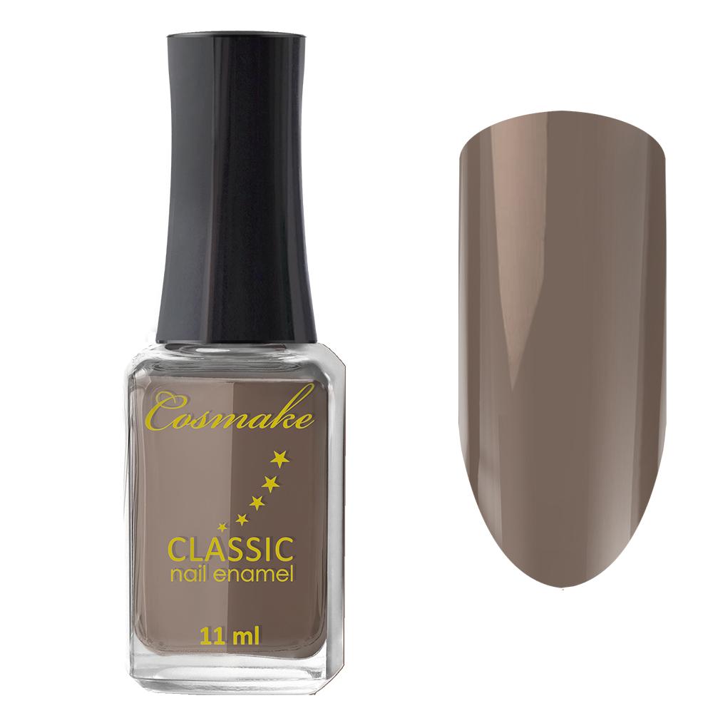 57 Лак для ногтей Cosmake CLASSIC 11 мл Серо-Коричневый
