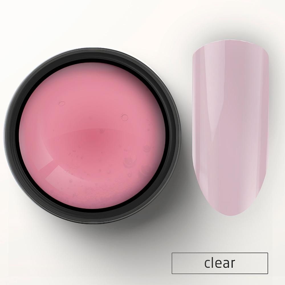 2010 Гель УФ однофазный розовый 15 гр