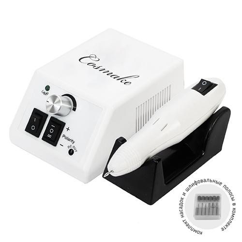 Машинка для аппаратного маникюра и педикюра с комплектом насадок (GM-1)