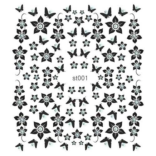100 Наклейки со стразами Cleola Beauty/12