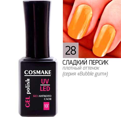 28 Гель-лак Classic Сладкий персик