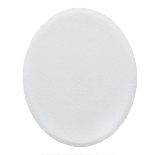 """SP-14 Спонж для основы овальный белый """"Oval shape"""""""