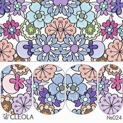 Слайдер Дизайн 024 Cleola Яркие цветы