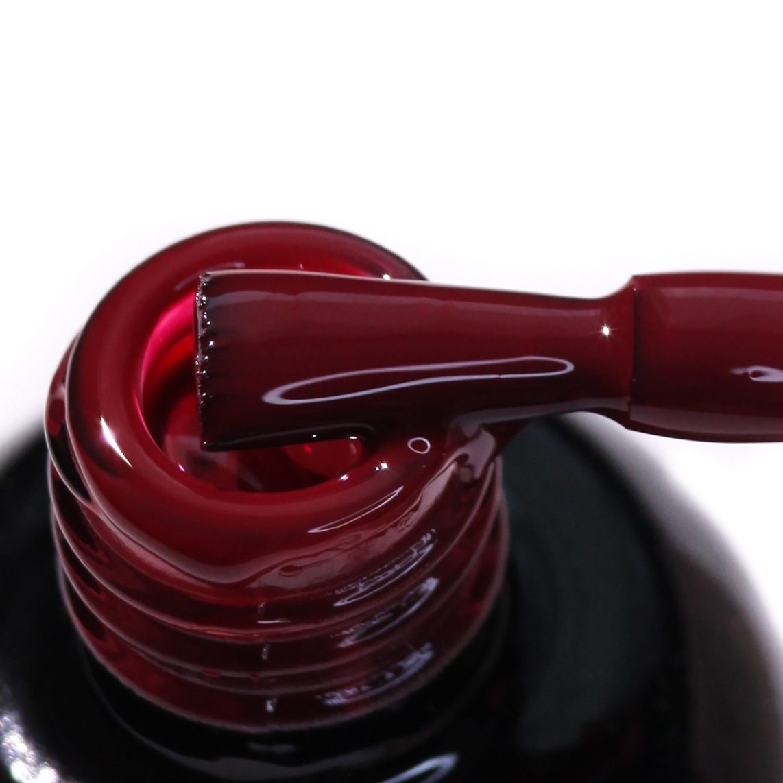10 Гель-лак с липким слоем 11мл Cosmake Темно-Красный