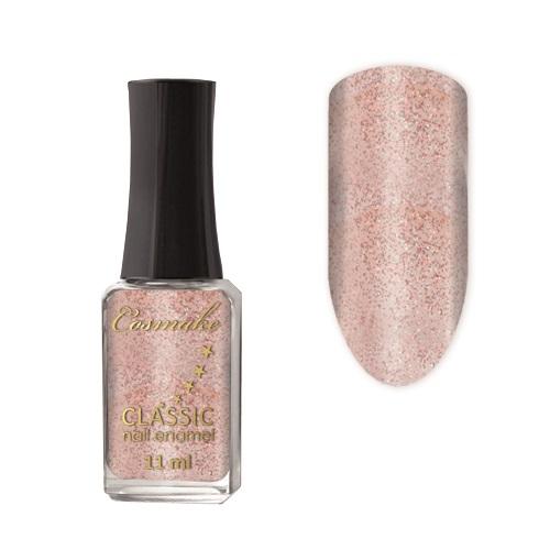 Лак для ногтей  CLASSIC Cosmake 75 11мл Коричневый с блестками