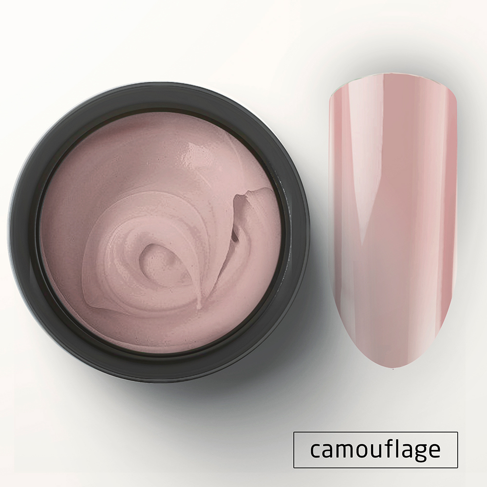 8030 Полигель телесно-розовый камуфляж 15г Cosmake