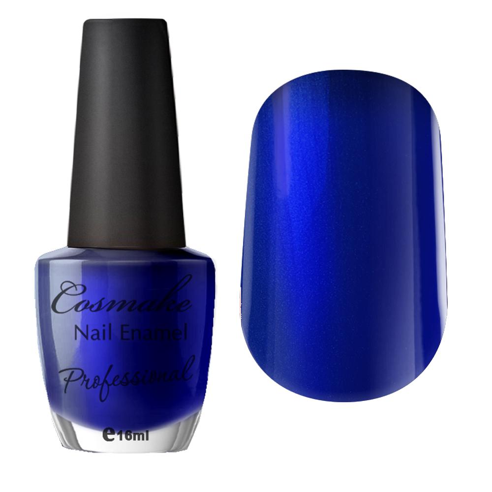 078 Лак для ногтей Professional Cosmake 16мл темно синий