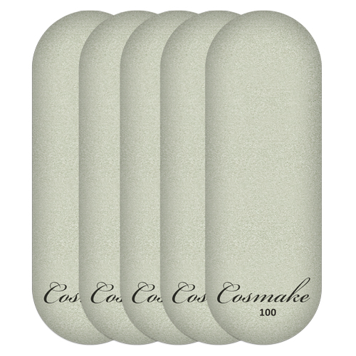 Сменные насадки для металлической тёрки-основы 100 грит (уп 5 шт) Cosmake