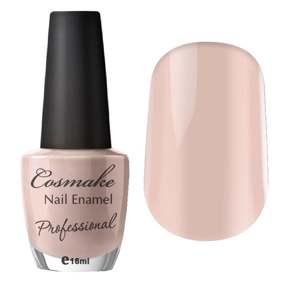 081 Лак для ногтей Professional Cosmake 16мл Кремово-розовый