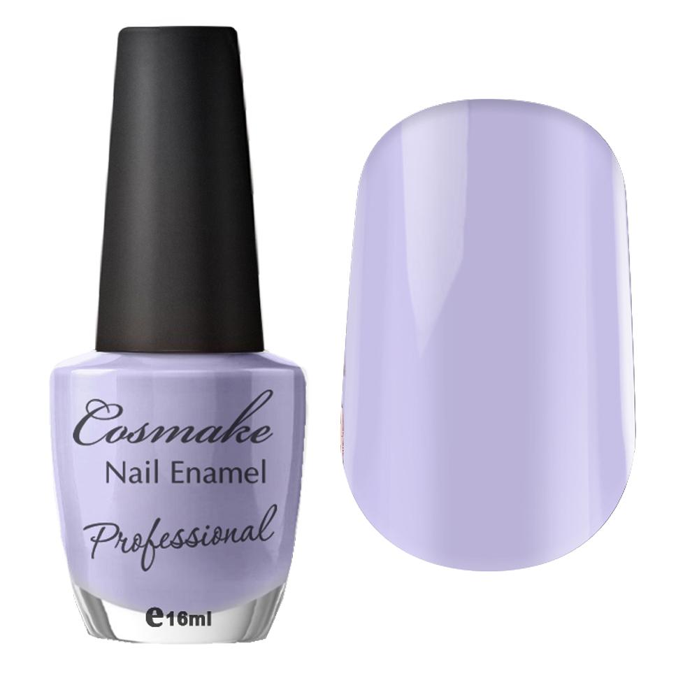 084 Лак для ногтей Professional Cosmake 16мл Бледно-Сиреневый