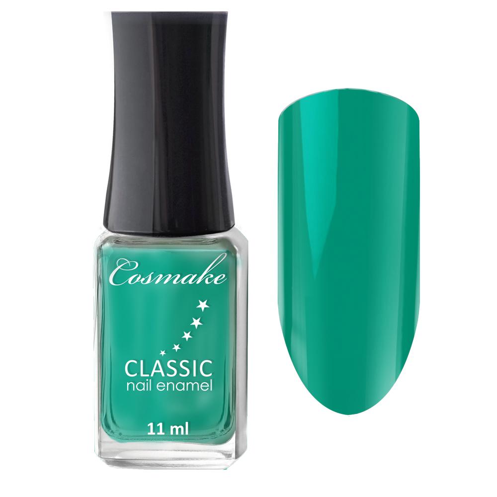 48 Лак для ногтей  CLASSIC Cosmake 11мл Матово-Мятный