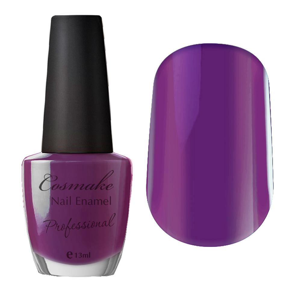 002 Лак для ногтей Professional Cosmake 16мл Фиолетовый