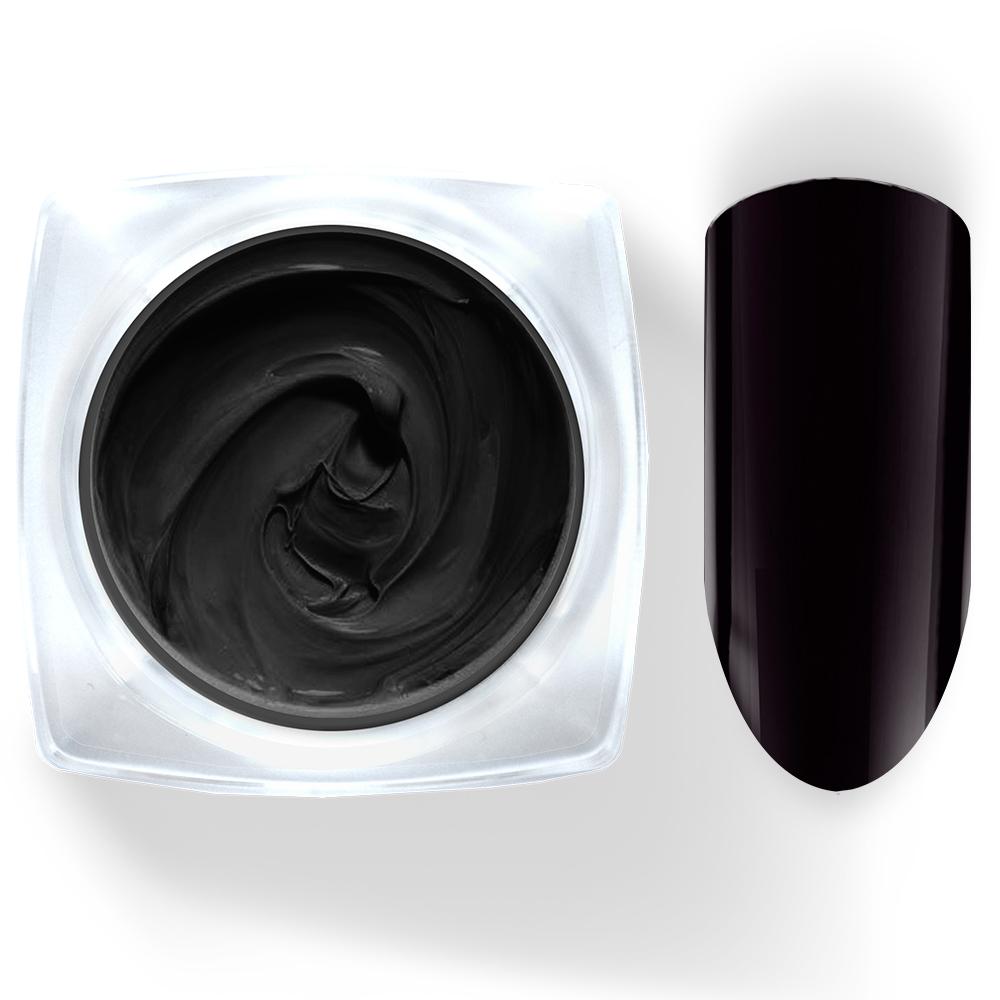 002 Гель-краска Pudding Cosmake Premium 5гр. Черная