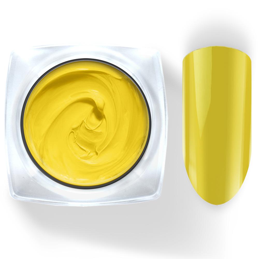 027 Гель-краска Pudding Cosmake Premium 5гр. Желтая