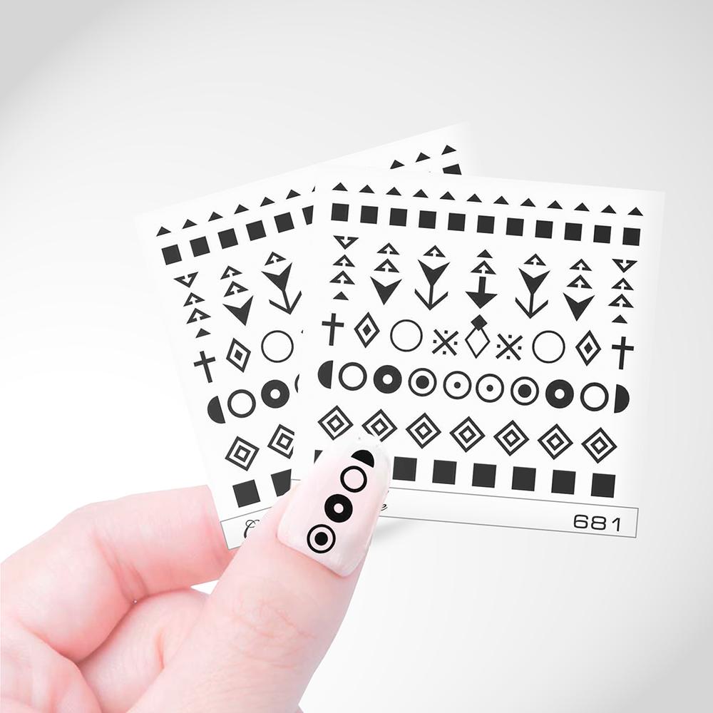 681 Слайдер Дизайн Cosmake Геометрия 6