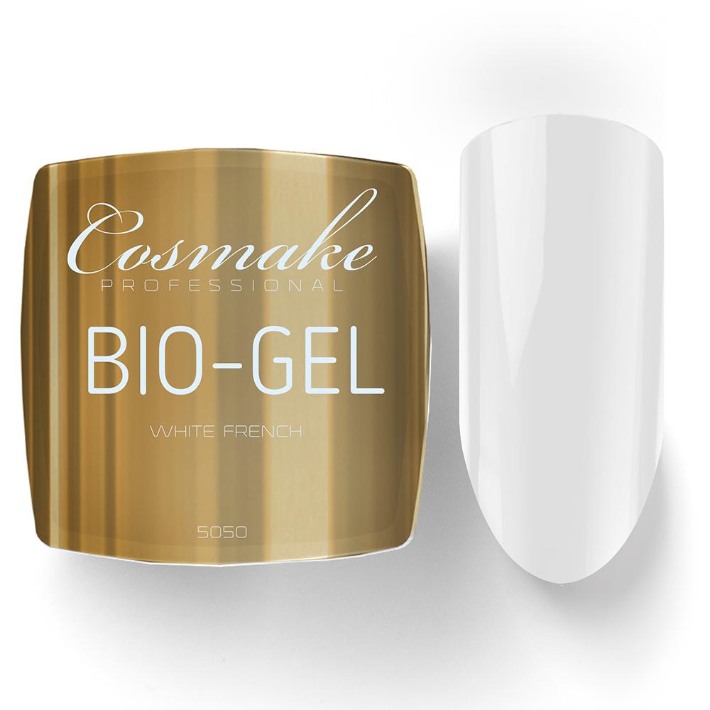 5050 Гель Bio/LED белый френч Cosmake  Premium 15 гр Germany