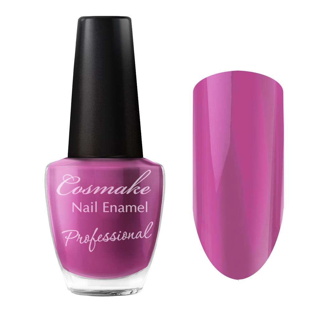 089 Лак для ногтей Professional Cosmake 16мл Ярко-Лиловый