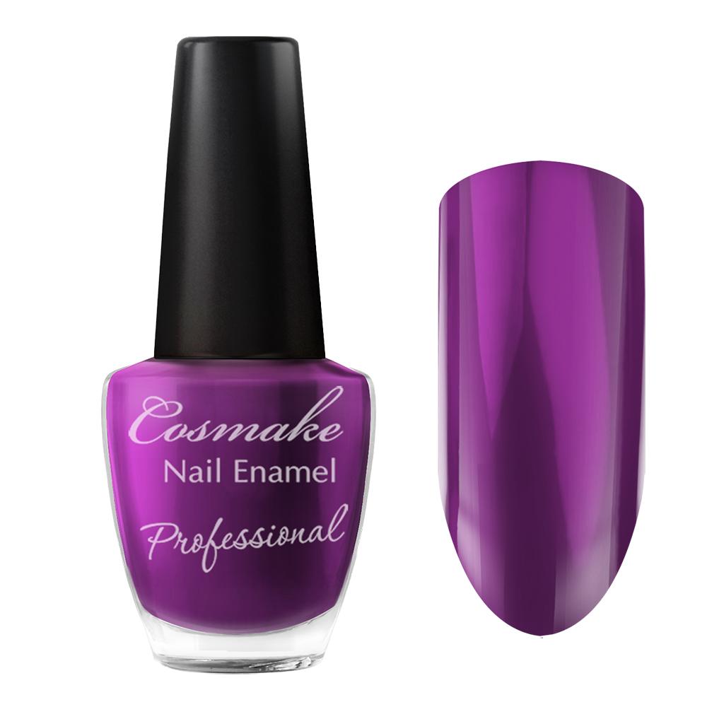 091 Лак для ногтей Professional Cosmake 16мл Темно-Сиреневый