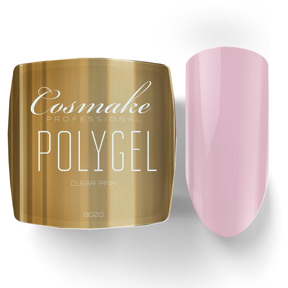 8020 Полигель розовый Cosmake Premium 15гр