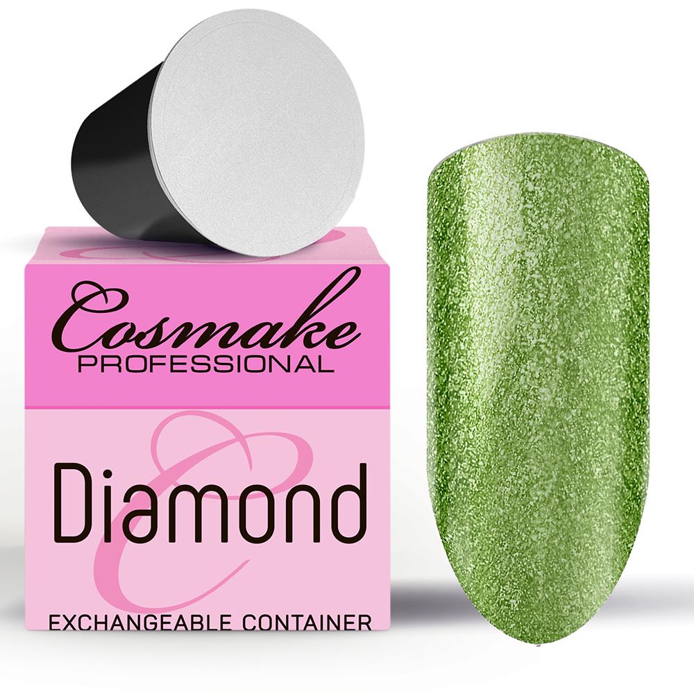 Z109 Гель-лак жидкая фольга Салатовый Diamant  5г Cosmake Premium