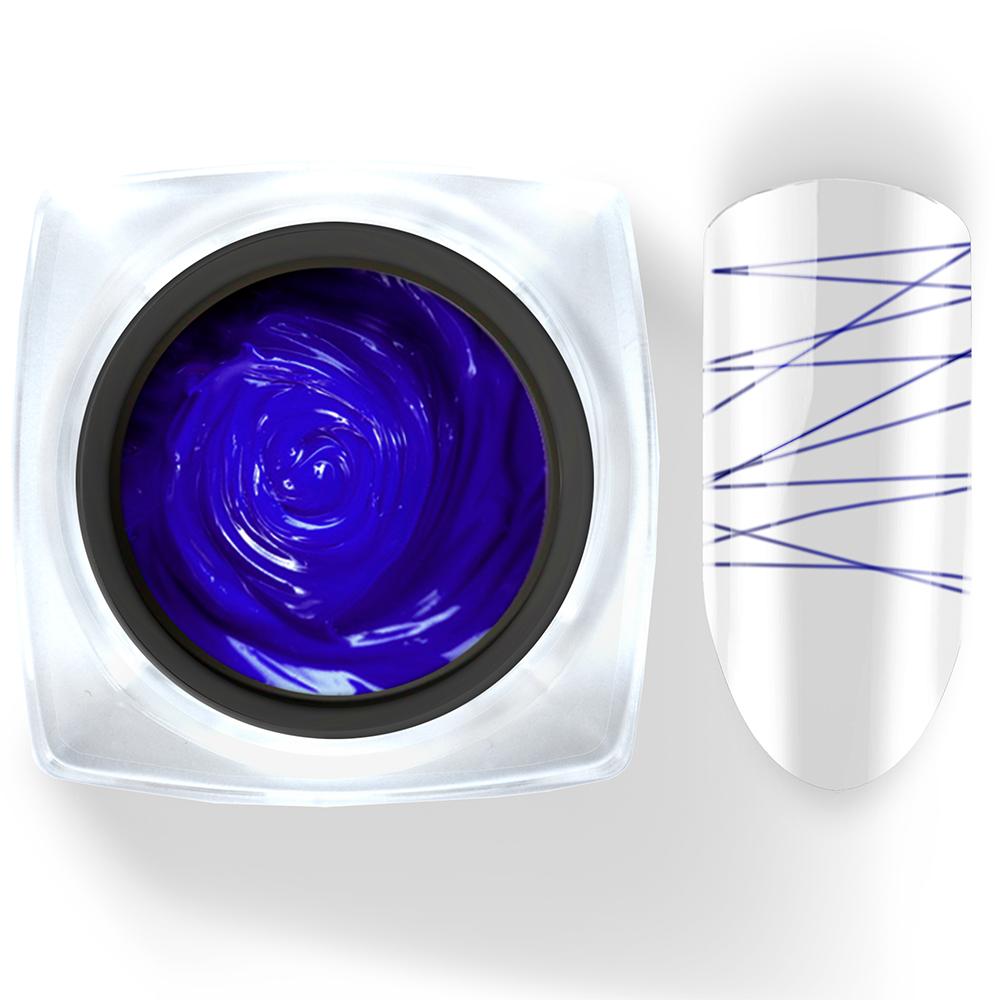 031 Гель-краска Паутинка 5г синяя Cosmake Premium