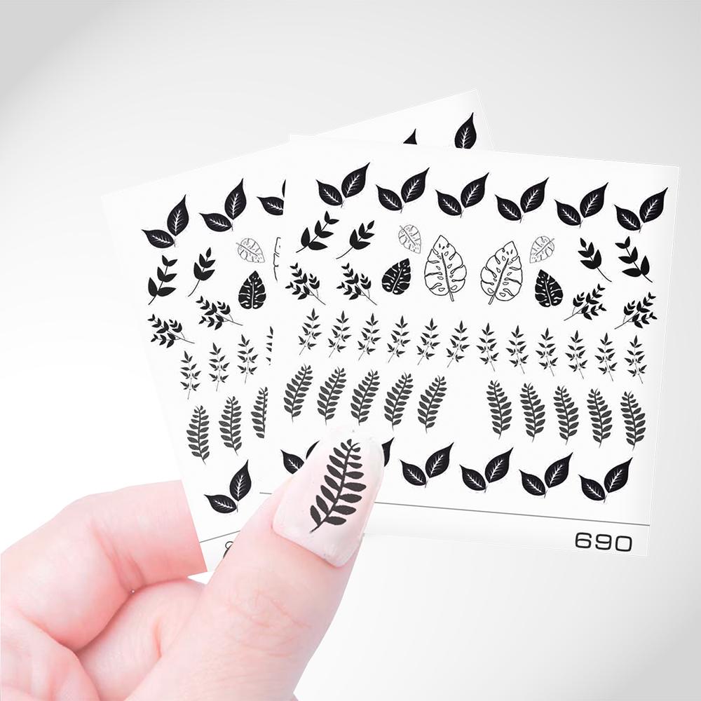 690 Слайдер Дизайн Cosmake Листья