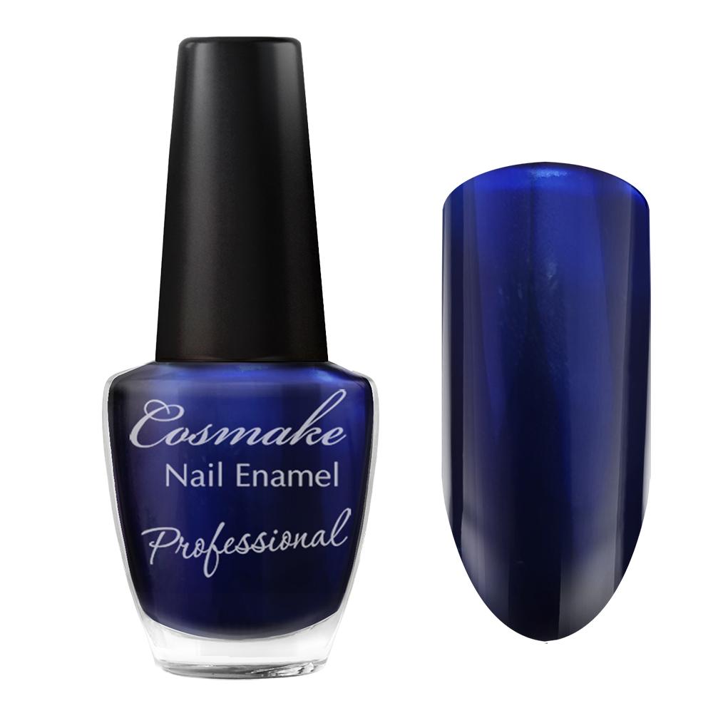 098 Лак для ногтей Professional Cosmake 16мл Синий металлик