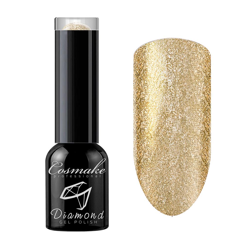 104 Гель лак жидкая фольга Diamond 6мл Cosmake Золото