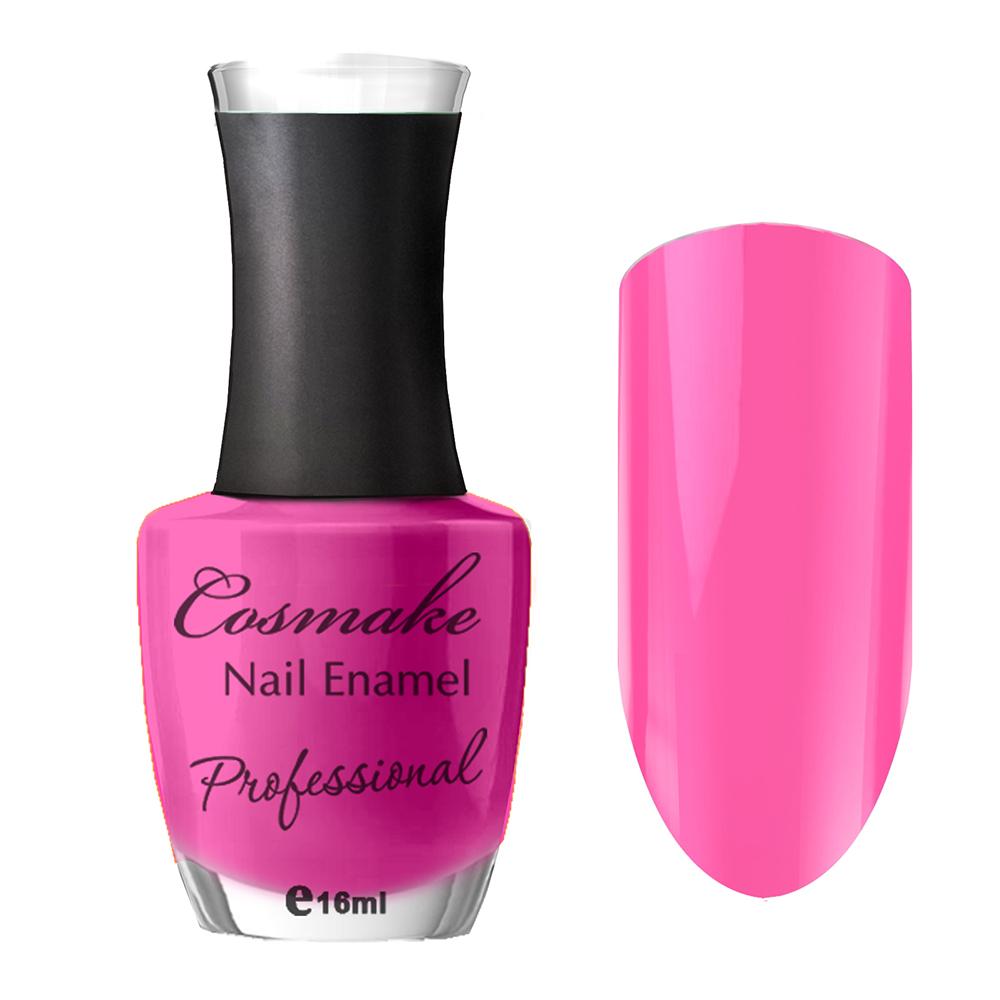 105 Лак для ногтей Professional Cosmake 16мл Ярко-Розовый