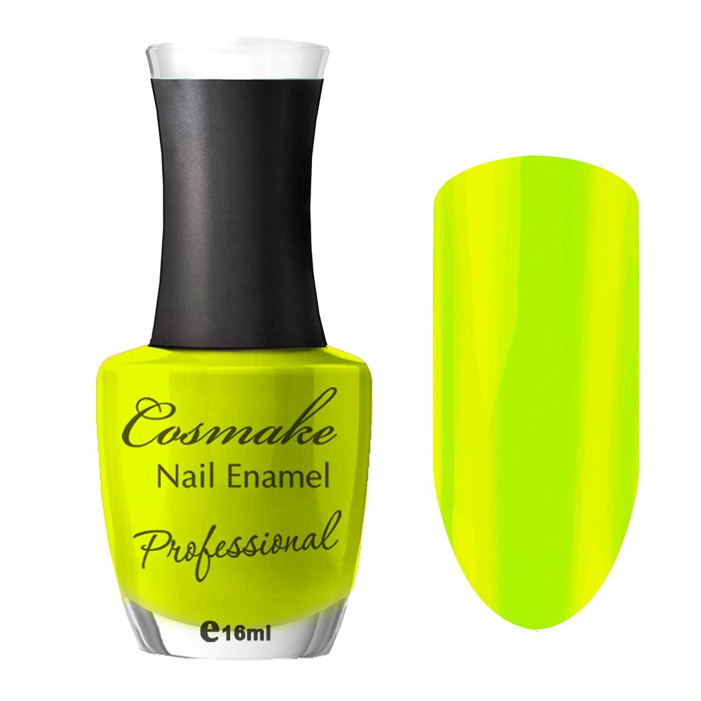 107 Лак для ногтей Professional Cosmake 16мл Светло-Желтый