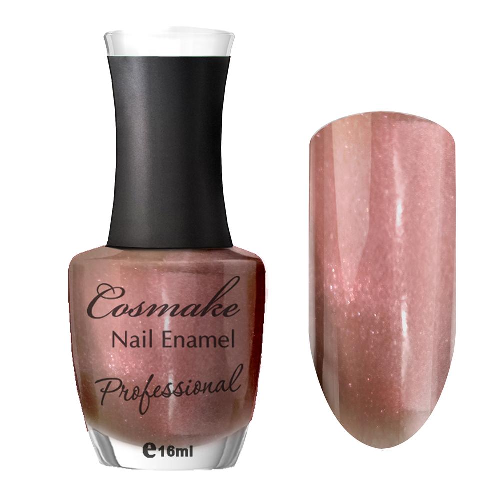 108 Лак для ногтей Professional Cosmake 16мл Светло-Коричневый с шиммером