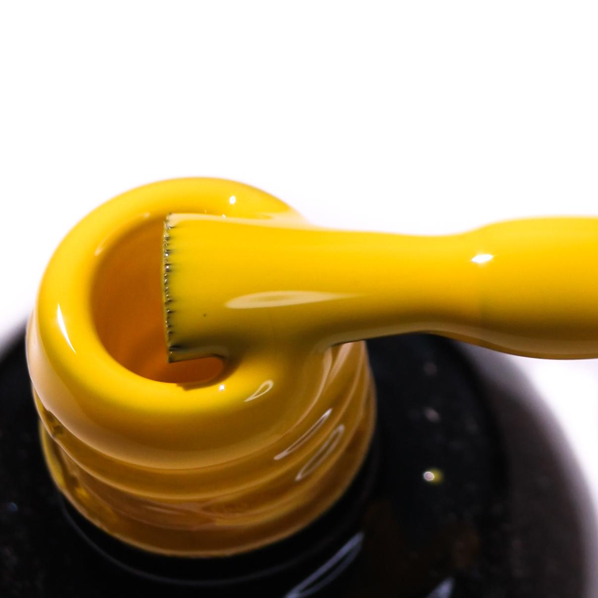 0164 Гель-лак с липким слоем 11мл Cosmake Ярко-Желтый