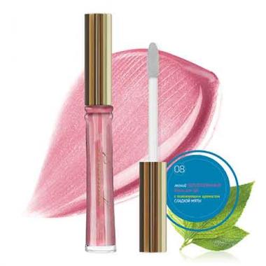 08 Блеск для губ Кораллово-Розовый