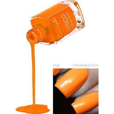 Лак для ногтей Disco 102 Оранжевый