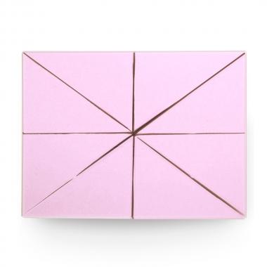 SP-10 Набор спонжей для макияжа треугольник упаковка 8 шт