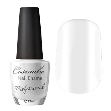 007 Лак для ногтей Professional Cosmake 16мл Белый