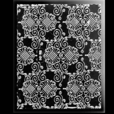 Наклейка для ногтей 302 Deluxe Silver Voile