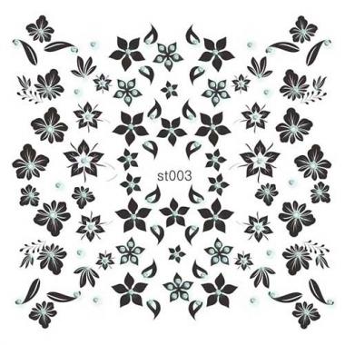 102 Наклейки со стразами Cleola Beauty/12