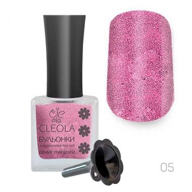 Бульонки в бутылке Cleola 05 15 гр. розовый