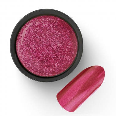 Гель-лак жидкая фольга ярко-розовый 02 5г Cosmake