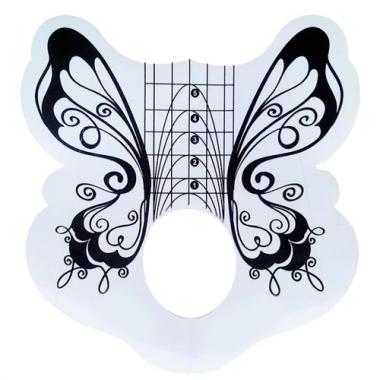 Формы для ногтей Бабочка 50 шт. Cosmake