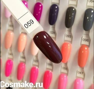 0059 Гель-лак с липким слоем 11мл Cosmake Шоколадный