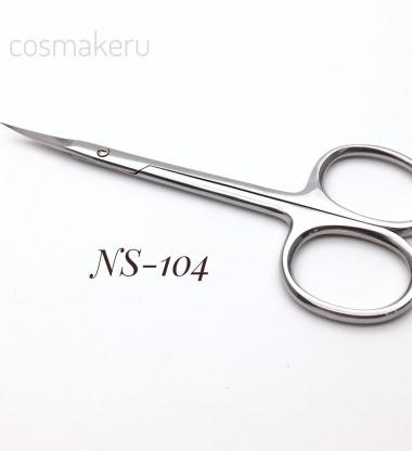 104NS Ножницы кутикулярные супертонкие 22 мм Cosmake